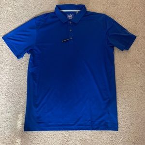 Puma Pepsi NFL promotional golf polo shirt large